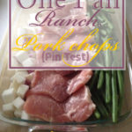 Easy One Pan Ranch Pork Chops Pin Test Review:
