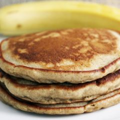 Light and Fluffy Banana Pancakes (Gluten-Free)