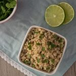 Pressure Cooker Cilantro Brown Rice: Just 4 easy steps! Gluten-free | Dairy-free | Low Oil | Copycat Recipe | Chipotle Copycat | Instant Pot