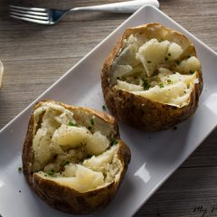 How to Cook the Perfect Baked Potato (Restaurant Style)
