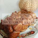 Celebrate fall with this easy, crowd pleasing Pumpkin Cream Cheese Pull Apart Bread.