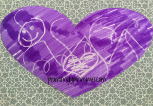 Learn how to make easy invisible message Valentines!