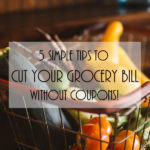 5 Simple Tips to Cut Your Grocery Bill (Without Coupons!) www.promisinglypennywise.com