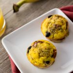 Black Bean and Sweet Potato Egg Muffins: A healthy and easy make-ahead breakfast recipe. Gluten-free, Dairy-Free and Low-Calorie