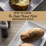 How to Cook Perfectly Fluffy Baked Potatoes (Restaurant Style): Cook perfectly fluffy, restaurant style baked potatoes in two easy steps!